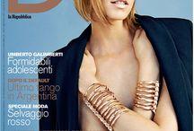 JACQUETTA WHEELER IN KRIZIA / The super top model wears Krizia dresses in D la Repubblica #krizia #fashion #madeinitaly #dlarepubblica #stylist #fashionstylist