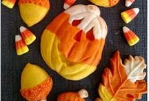 Awesome Autumn cookie creations / Edible place settings and ceative cookies for your Thanksgiving table