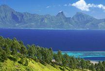 TAHITI, île d'amour, le début d'un voyage inoubliable / L'ile de Tahiti est le point de départ de tout voyage en Polynésie Française. Celle que l'on surnomme « île d'amour » est la plus grande île de l'archipel de la Société ainsi que le cœur économique de la Polynésie Française.