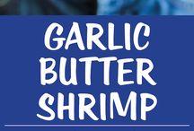Gills / Garlic shrimps