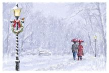 Télapó, karácsony, tél