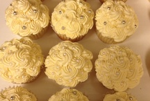 Bridal Shower cupcakes for next Saturday 8/30 / by DNK