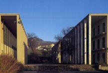 GIORGIO GRASSI - CASA DELLO STUDENTE, CHIETI, ITALY (1976)