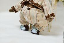 Овечки Тедди Людмилы Двоенко / Авторские игрушки, овечки, с стиле Тедди