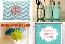 dorm decor / turn your boring dorm room into an inspiring room. For more inspiration, visit www.mylittlechickblog.com