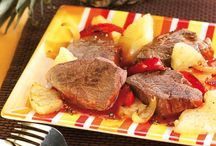 BŒUF - Idées recettes / Découvrez toutes nos idées de recettes à base de bœuf sur http://interbev-bretagne.fr/les-recettes/