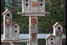 Σπίτια πουλιών birdhouses