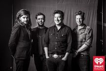 iHeartRadio Album Release Party with Mumford and Sons / Mumford & Sons gave an exclusive performance at the iHeartRadio Theater, presented by P.C. Richard & Son, on May 8, 2015. / by iHeartRadio