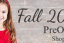 Fall Fashion PreOrders 2016