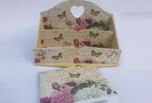 CraftEmotions - Decoupage with Napkins / CraftEmotions - decoupage with Napkins.