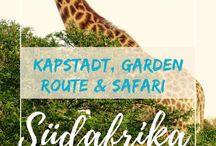 Südafrika / Südafrika entdecken, Südafrika Tipps, Südafrika Roten, Südafrika, Unterkünfte, Kapstadt, Garden Route, Safari in Südafrika, Johannesburg, Nationalparks Südafrika