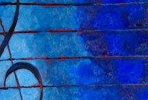 cantando en azul