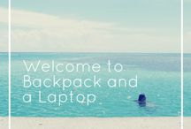 Backpack and a Laptop