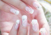 Bridal nailsw