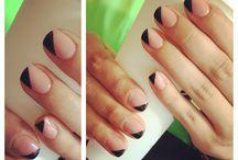 Shellac nails design :)