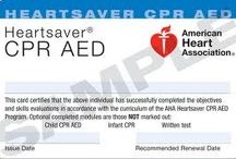 Certification Cards / American Heart Association Certification Cards