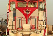 Kolejowe czoła lokomotyw