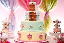 Festa/ Fiesta/ Party! / Imagens legais de festas infantis/ birthday parties que encontrei ao organizar o primeiro aniversário do meu casal de bebês. / by Luciana Garbin