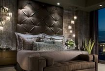 Master bedroom ideas / by Tara Glaspie