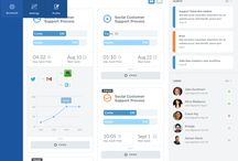 DESIGN | Dashboards / A collection of dashboard designs that serve as an inspiration
