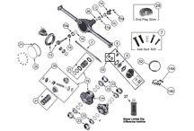 Jeep Wagoneer SJ Parts Diagrams / by Morris4x4Center.com