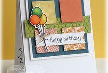 Birthday Card Ideas / A collection of my favourite handmade birthday card ideas!