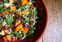 Salads - mains, starters and sides (gluten, soy and mostly grain and lactose free). Paleo friendly
