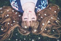 Flowers in Her Hair / by Valeria Barros