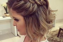 hair for ball