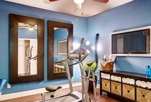 Home workout room / by Kim Hinkle