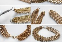DIY Double Chain Necklace