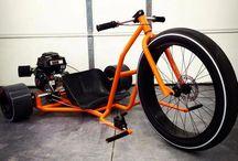 Drift bike big wheel