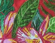 bordados em chita