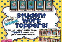 Student Work Displays