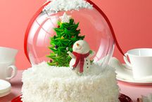 holiday cake / by Jolanda Downing