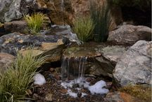 Pond & Pondless Waterfalls / Ponds that have their own waterfall features. Some waterfalls are pondless!