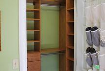 Closet organization / by Rachel Ziehnert