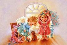 Dona Gelsinger / Прекрасные иллюстрации художницы Dona Gelsinger