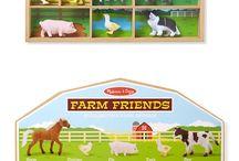 Farm Toys for Kids / Farm themed toys for kids