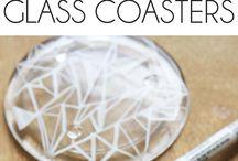 Glas /marmorering