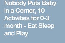 0-3 month activities