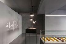 Pastry showroom