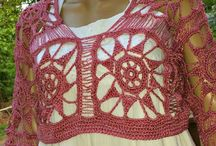"Angel Lace Crop Top / #CROCHET PATTERN DESCRIPTION: Slip this crop over your maxi dress or camisole and light up the boulevard. This Crochet crop top has a lavishly a wide-body style that softly drapes in all the right places. This pattern is so sweet; I named it ""Angel"" Lace Top.  / by GuChet"