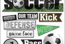 Soccer Scrapbooking / Scrapbook layouts and products for Soccer