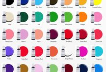 Food Color charts