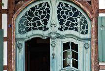 Art Nouveau - falbalas et fioritures / architecture Art Nouveau, mobilier , design Art Nouveau