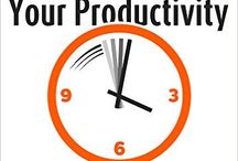Productivity When You Work From Home / There's a whole new set of problems and distractions that you face when you work from home. Check out these pins that will help you to be productive working from your home office.