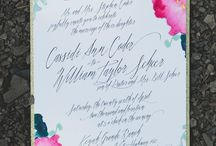 // Wedding stationary //