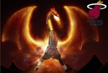My favorite sports player / Wade is my favorite basketball player, and he always be brave and unflinching