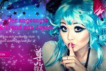Trend Agejo® - Beautystyle und Kosmetik aus Asien / Agejo® bedeutet Glamour und Sinnlichkeit, kombiniert mit einem Hauch von Eleganz und Unschuld. Ziel ist es, hübsch und unheimlich begehrenswert zu wirken. Das Hauptmerkmal des Agejo®-Styles liegt auf den stark betonten, groß wirkenden Augen. Die Wimpern sind künstlich oder mehrfach übergetuscht, die Haare meistens gecurlt oder zu Hochsteckfrisuren aufgebauscht. Das Make-Up muss definitiv auffällig aber nicht zu übertrieben sein. Der Agejo®-Trend entwickelt sich weiter.